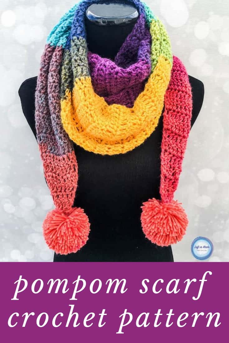 Loving this stylish scarf - and the pattern is beginner friendly!