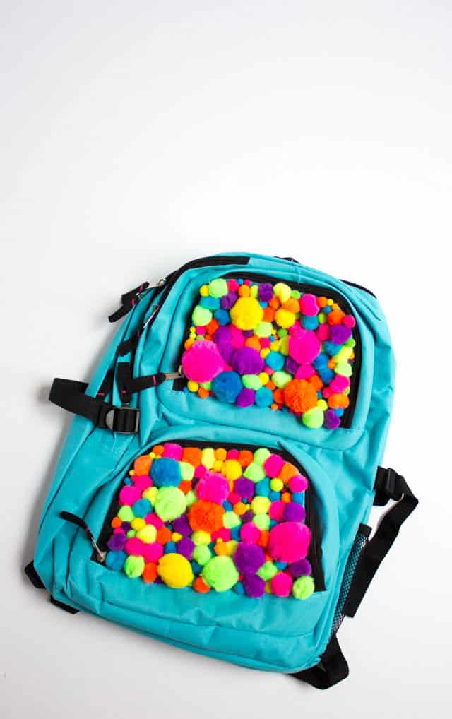 Pompom Backpack Tutorial