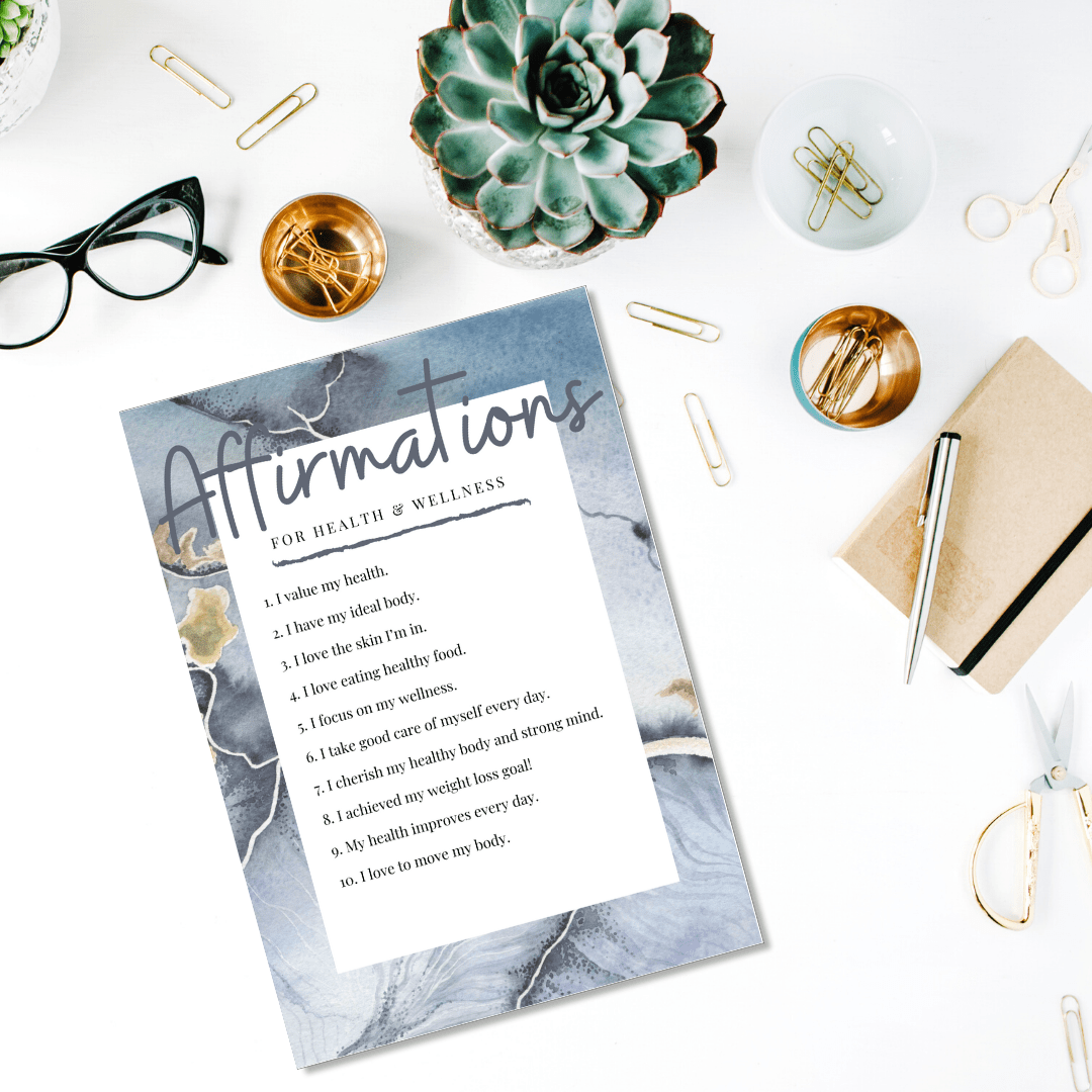 Download your free printable copy of 50 powerful affirmations you can use in your manifesting rituals - and then find out how to write your own