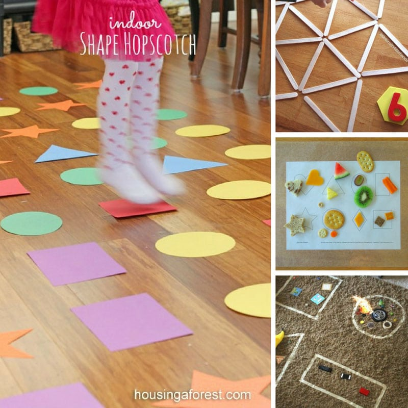 Preschool shapes games