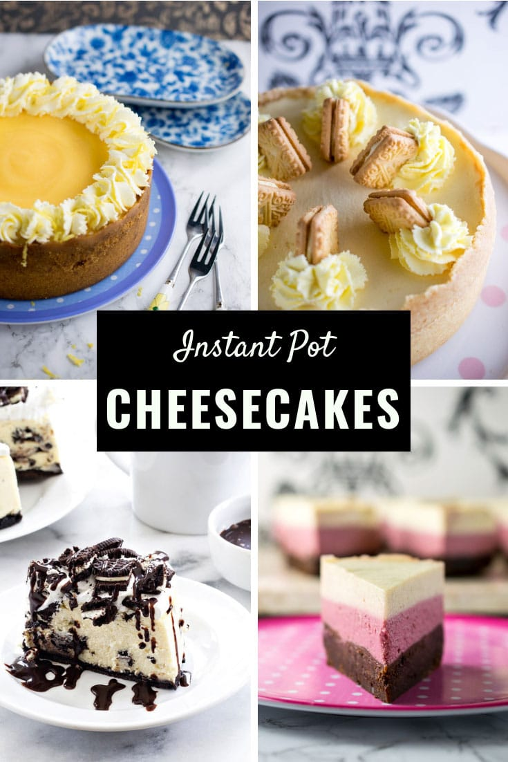 Pressure Cooker Cheesecakes Recipes