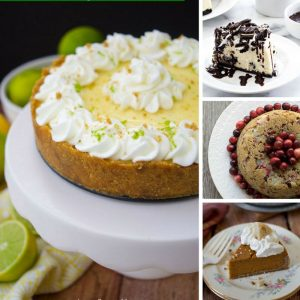 Oh my would you just look at all those amazingly yummy pressure cooker desserts!