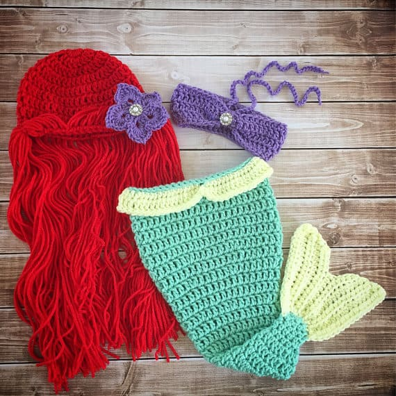 Princess Ariel Inspired Mermaid Costume to Buy