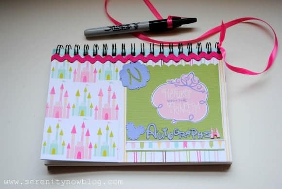 Be Inspired by this Princess Themed Autograph Book