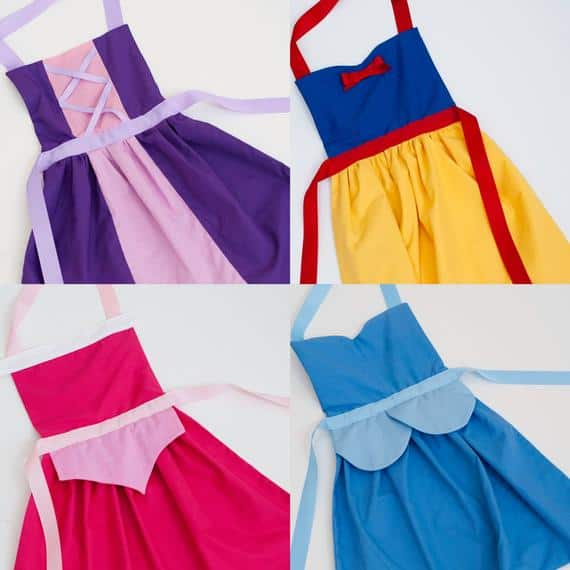 Princess Dress Up Aprons to Buy