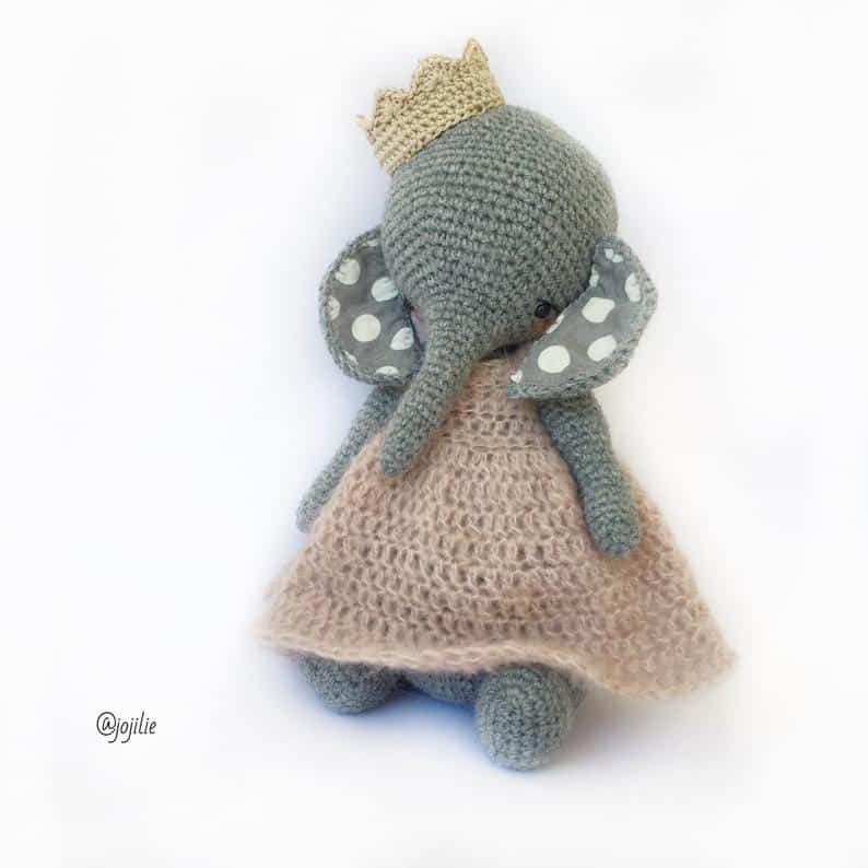 Lily the Elephant Princess Doll