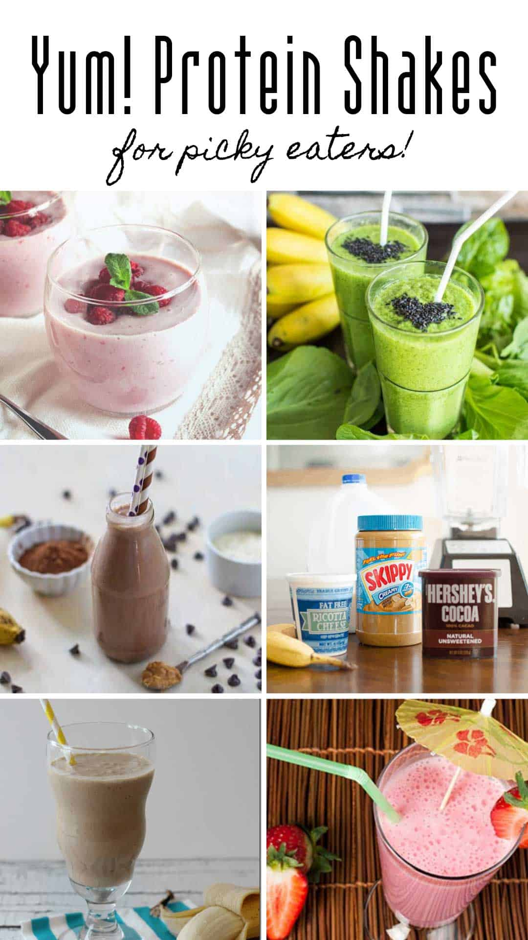 These protein shakes for picky eaters are just what you need for kids who refuse to eat meat and veggies!