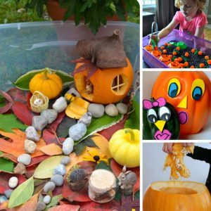 These pumpkin activities for preschoolers are fabulous - and perfect for our Fall Tot School plans!