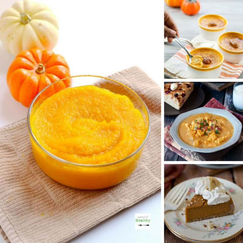 Yum - these pumpkin recipes are delicious and all made in my Instant Pot!