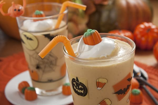 Pumpkin Shake - This Pumpkin Shake really hits the spot thanks to a can of pure pumpkin!