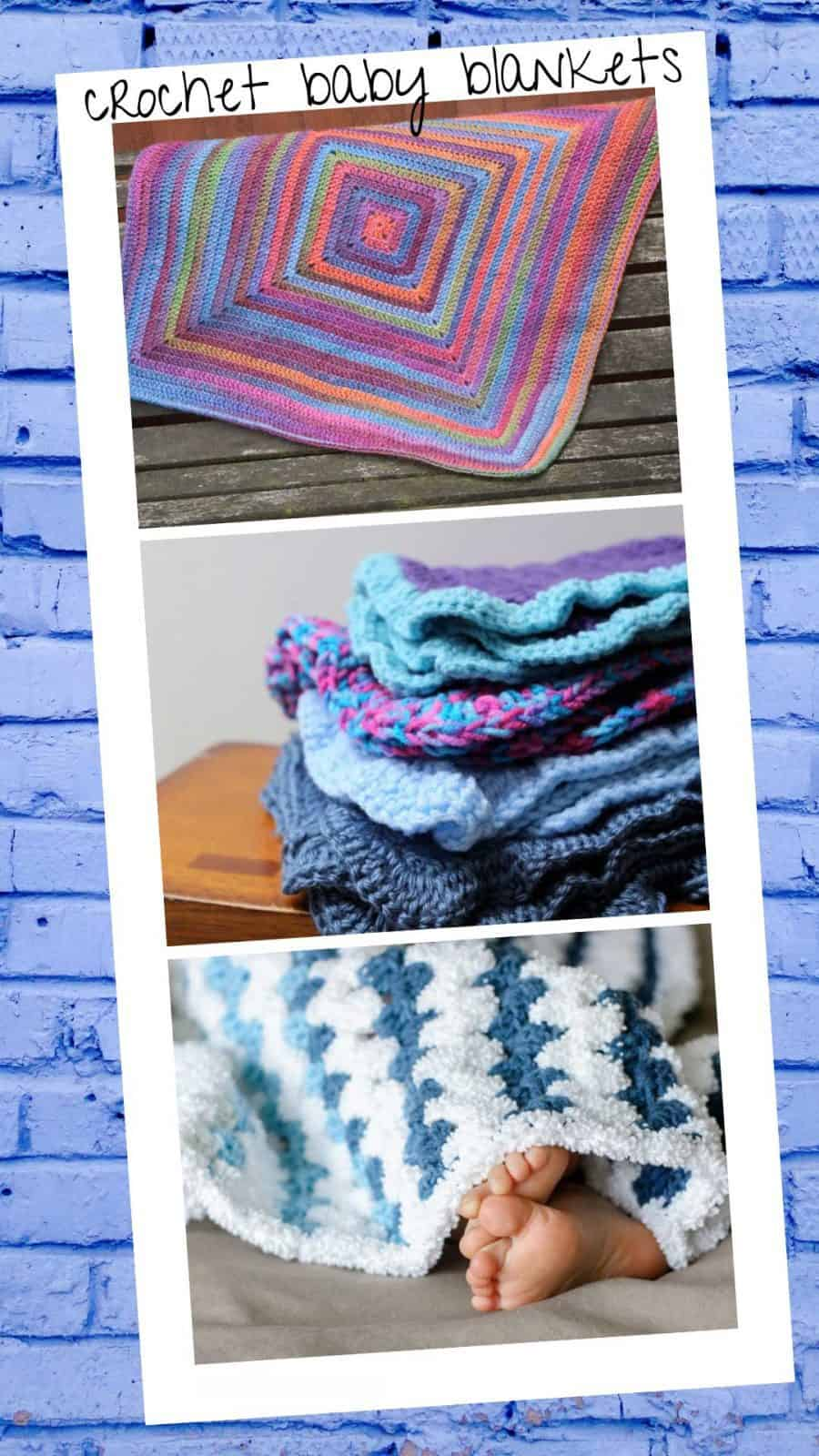If you were planning on hooking up a blanket for a baby shower gift but time has flown by today's collection is just what you need! All of these gorgeous baby blankets work up fast so they're perfect for last minute gifts!