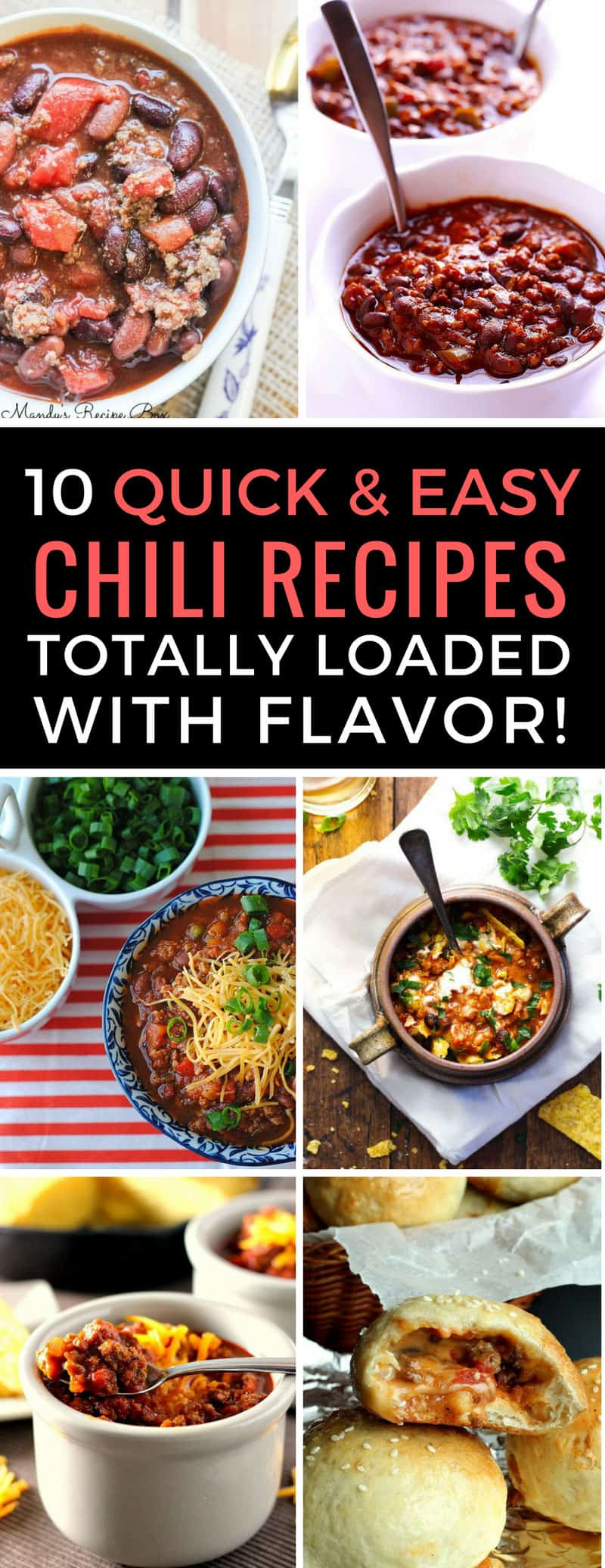 Easy chili recipes are comfort food at it's best! Can't wait to try these on game night. Thanks for sharing!