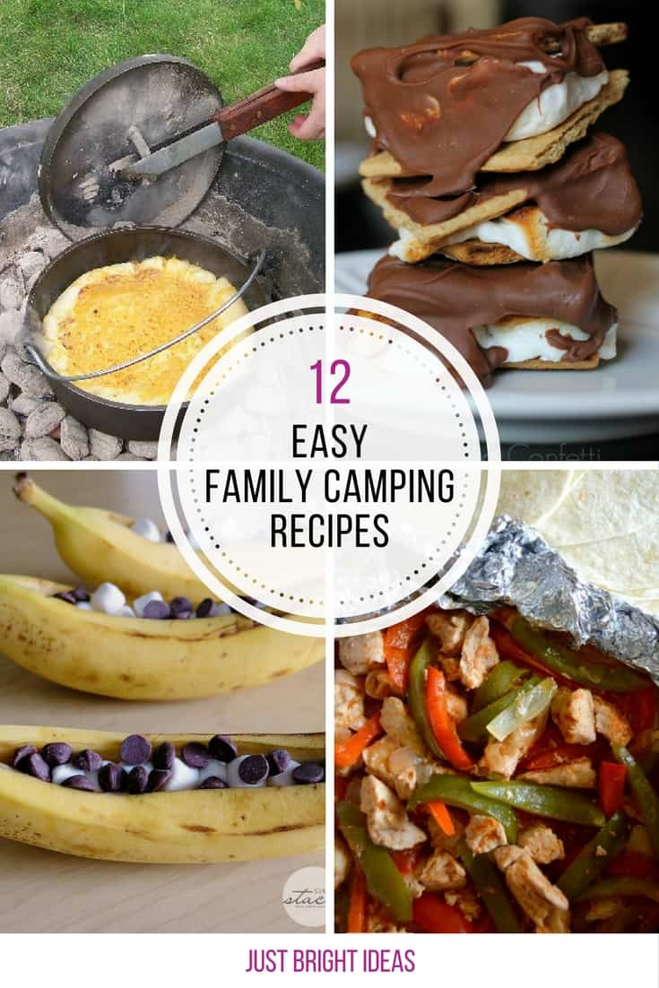 Loving these easy family camping recipes - can't wait to try them out!