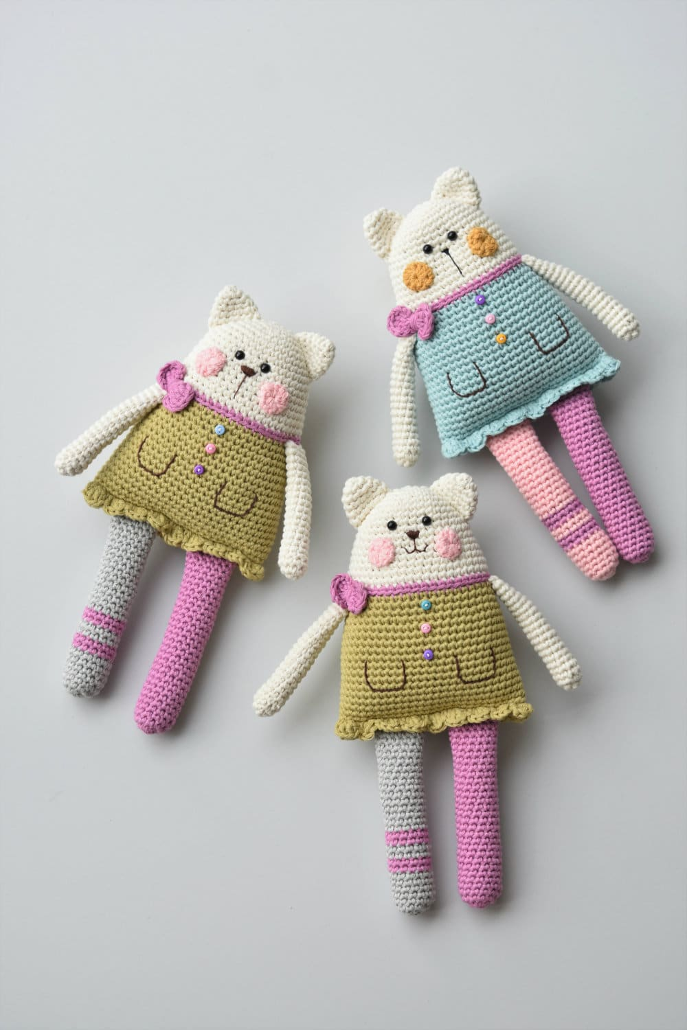 Amigurumi Cat Rag Doll Pattern