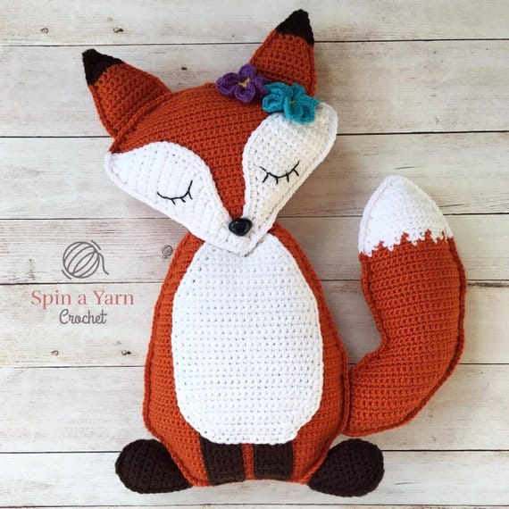 Ragdoll Fox Crochet Pattern