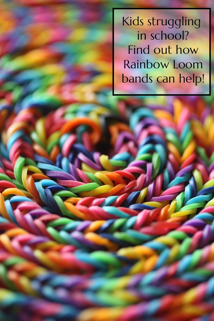 Rainbow Loom rubber bands make great Christmas gift ideas for kids
