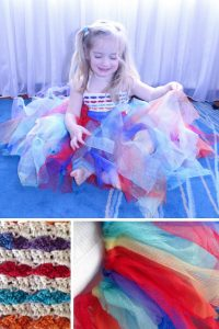 This DIY rainbow hearts tutu is gorgeous! Thanks for sharing!