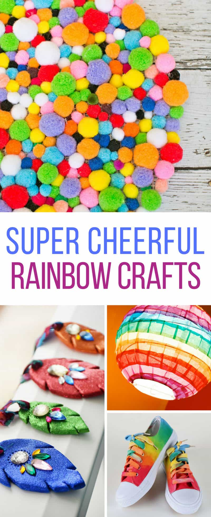 So many fabulous DIY rainbow crafts! Thanks for sharing!