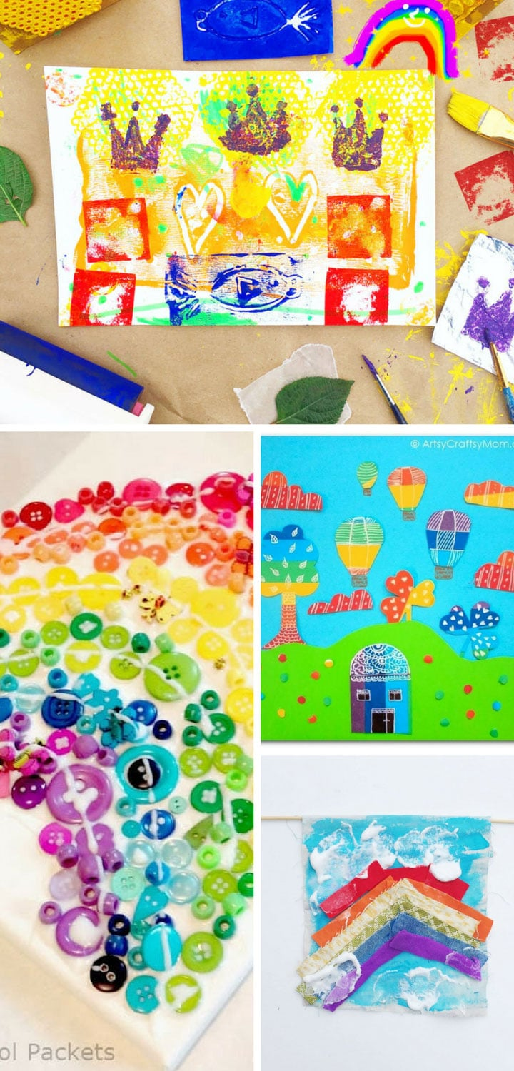 200 easy crafts for kids of all ages to enjoy for Fun crafts for all ages