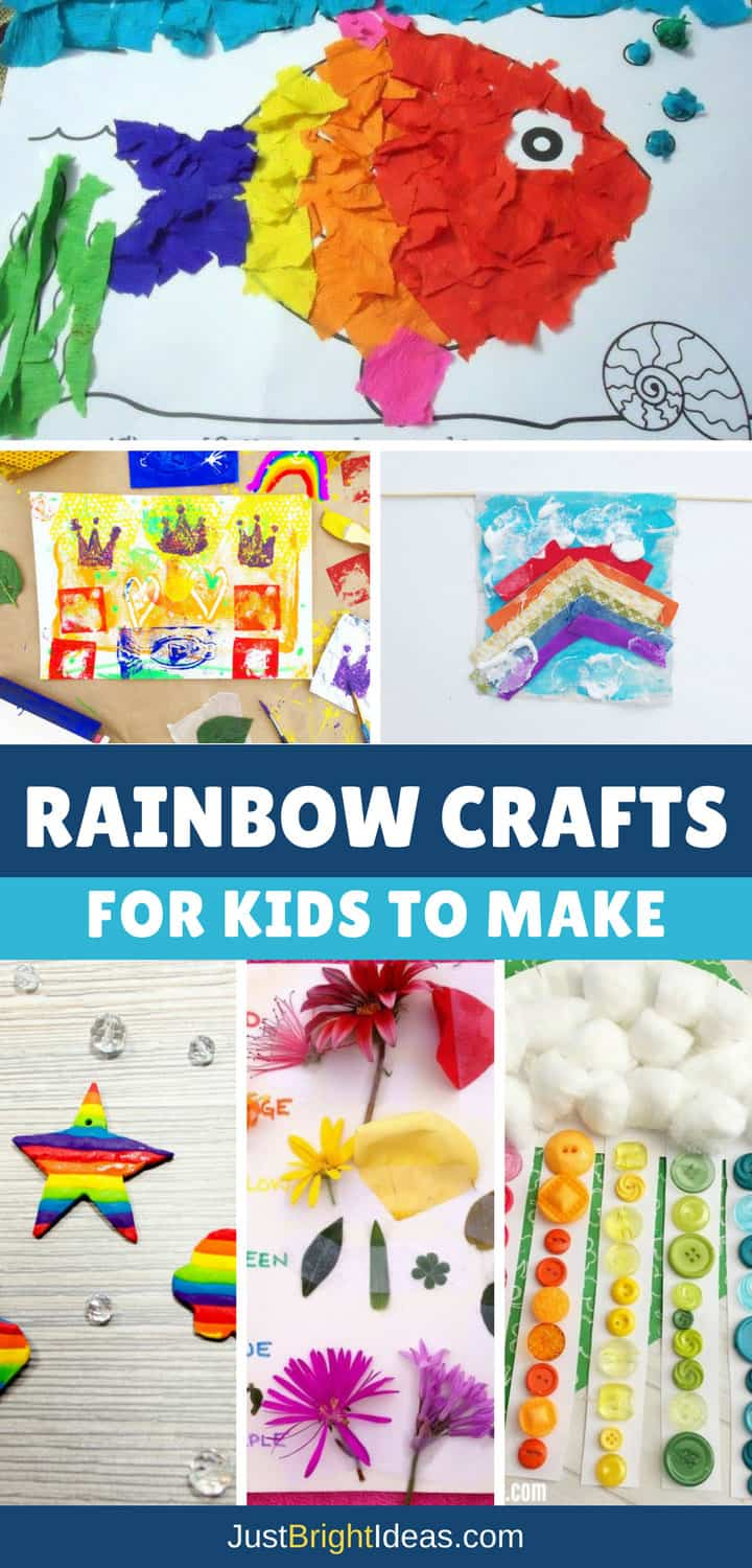 Rainbow Crafts for Kids - Pinterest