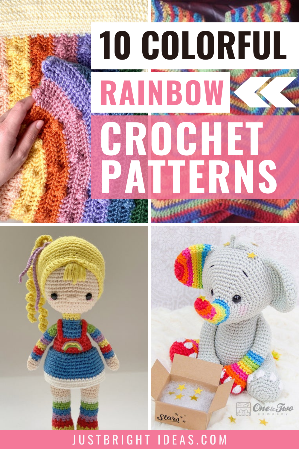 Rainbow Crochet patterns