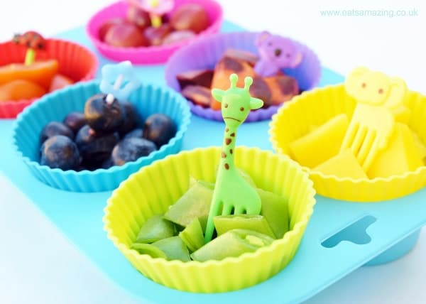 Rainbow Food Idea for Picky Eaters
