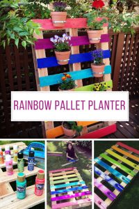 Loving these pallet planter it's so brightly coloured! Thanks for sharing!