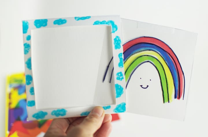 Rainbow Magic Trick Craft