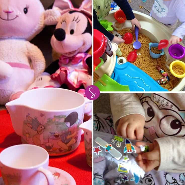 No mess activities for toddlers to do when you're stuck indoors!