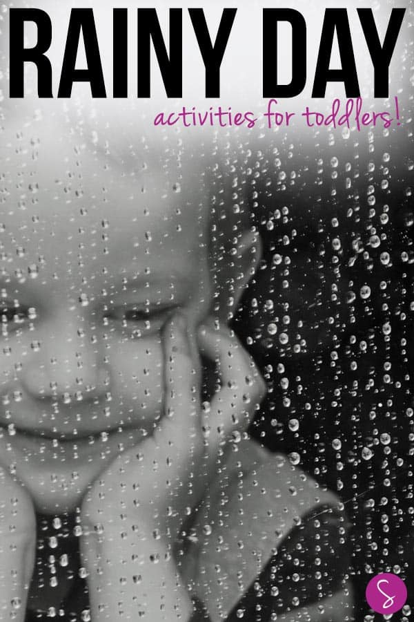 So many great ideas for indoor activities you can do on rainy days