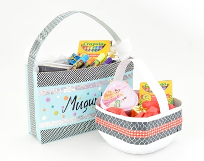 DIY Recycled Easter Baskets