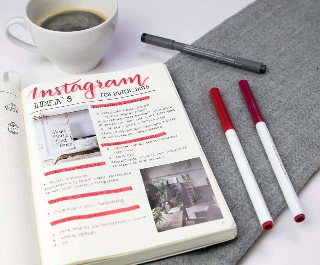 Red highlighting on your pages