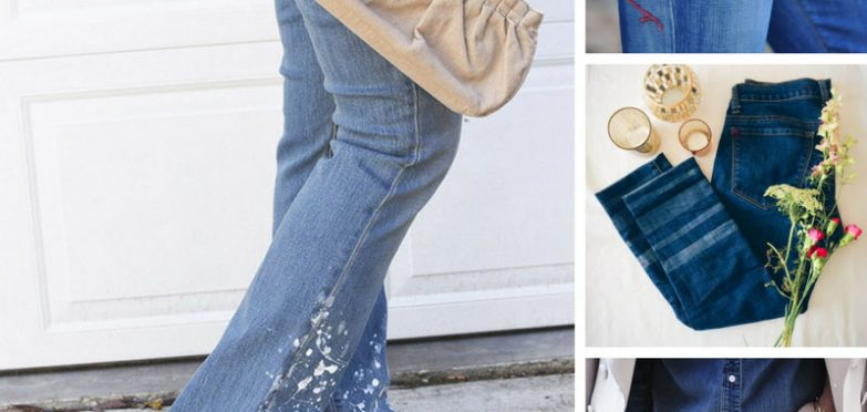 Loving these ideas for giving old jeans a makeover! Thanks for sharing!
