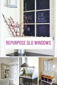 Loving these creative ways to repurpose old windows! Thanks for sharing!