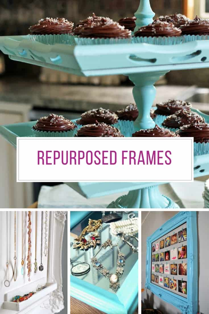 These projects for repurposing old picture frames are brilliant! Thanks for sharing!