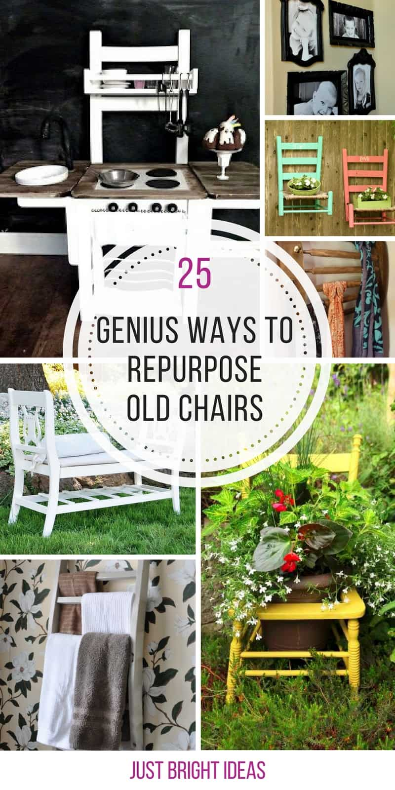 I always wondered how to repurpose old wooden chairs! Thanks for sharing!