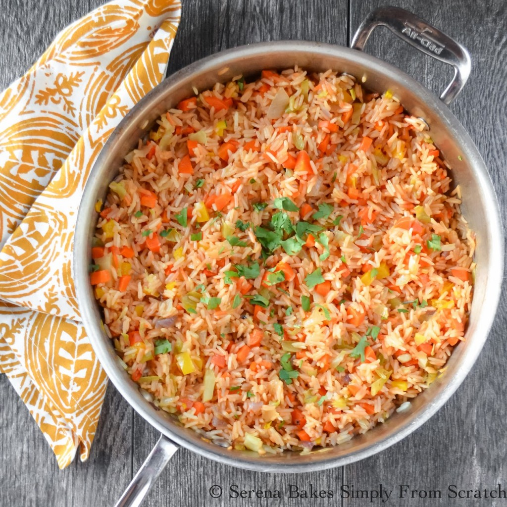 Restaurant Style Mexican Rice (1 of 1)