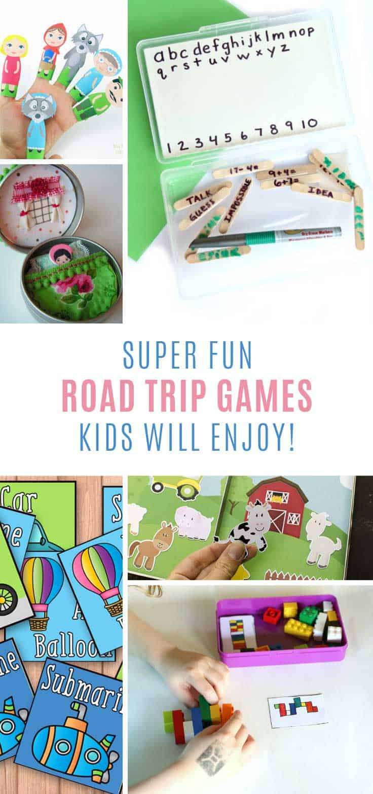 These road trip games for kids are so much fun!