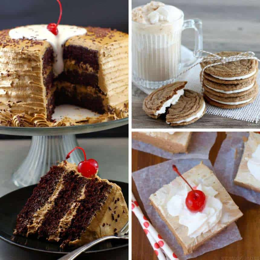 A collection of Root Beer Float Desserts for Summer