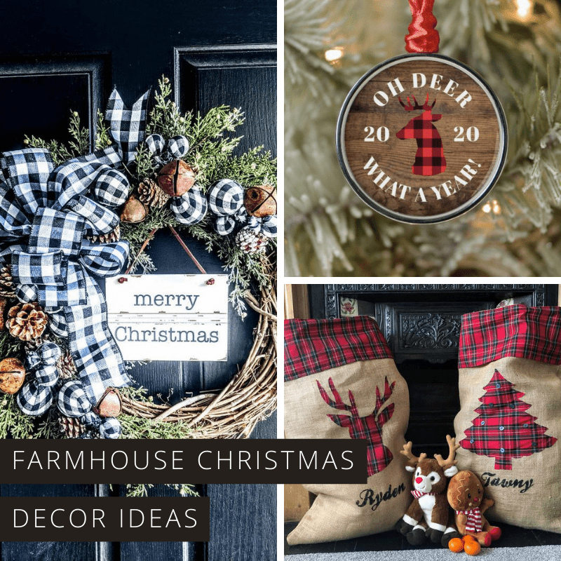 Farmhouse Christmas Decor Ideas You'll Fall in Love With