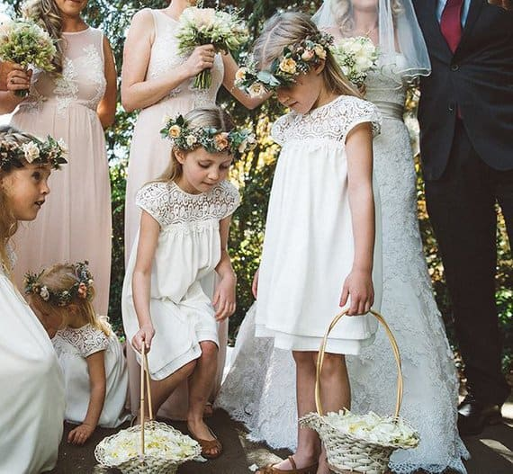 Rustic Flower Girl Dress PATTERN