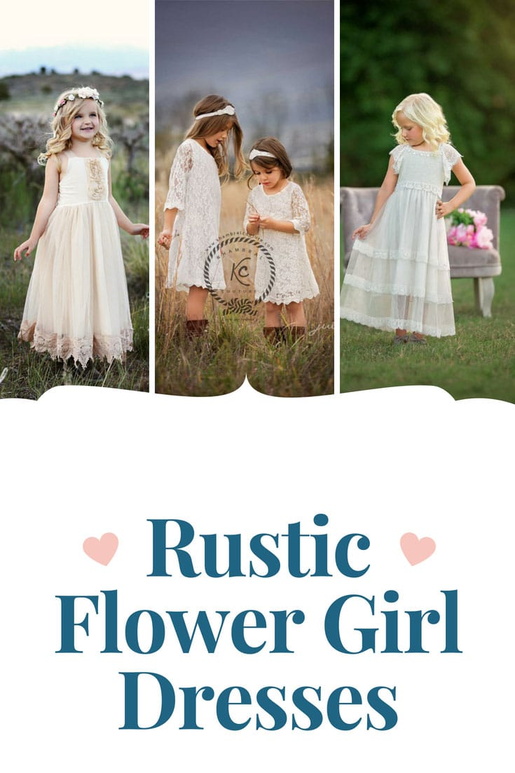 17 Gorgeous Rustic Flower Girl Dresses to Make Her Feel Like a Princess