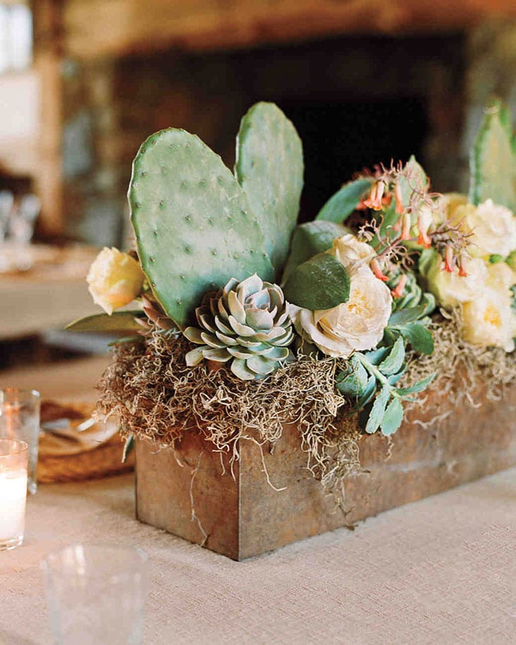 Rustic Wedding Centerpiece Box