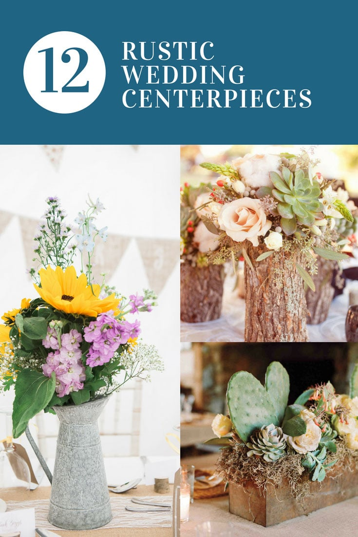 Rustic Wedding Centerpieces You Need to See