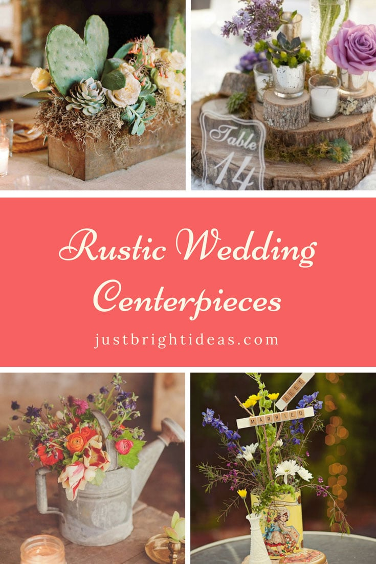 Rustic Wedding Centerpieces for Barn Weddings