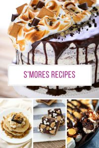 Loving these S'mores recipes! Thanks for sharing!