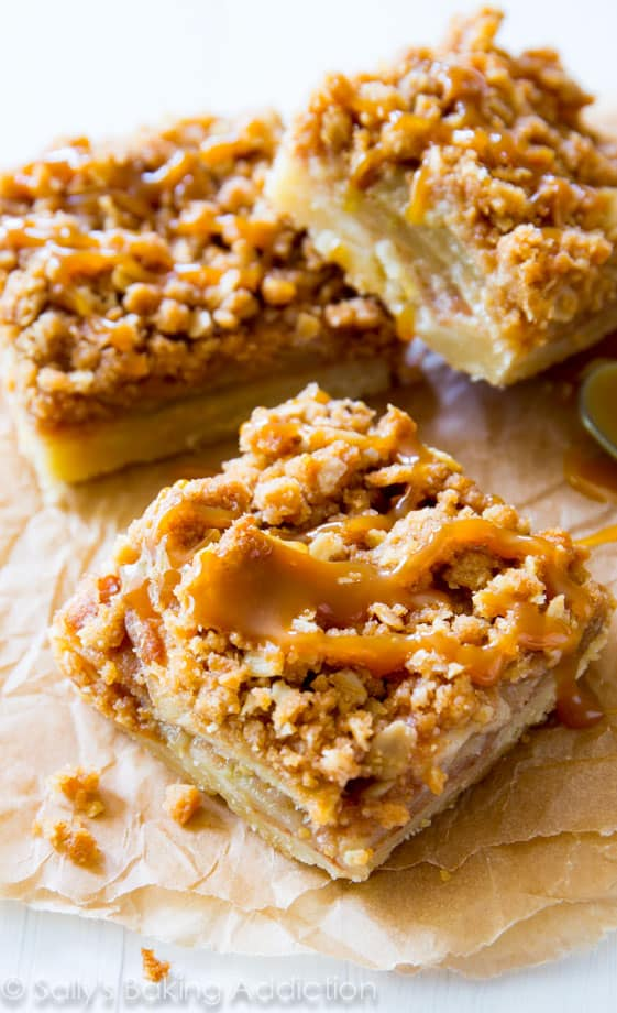 Don't have time to make an apple pie? Try these instead!