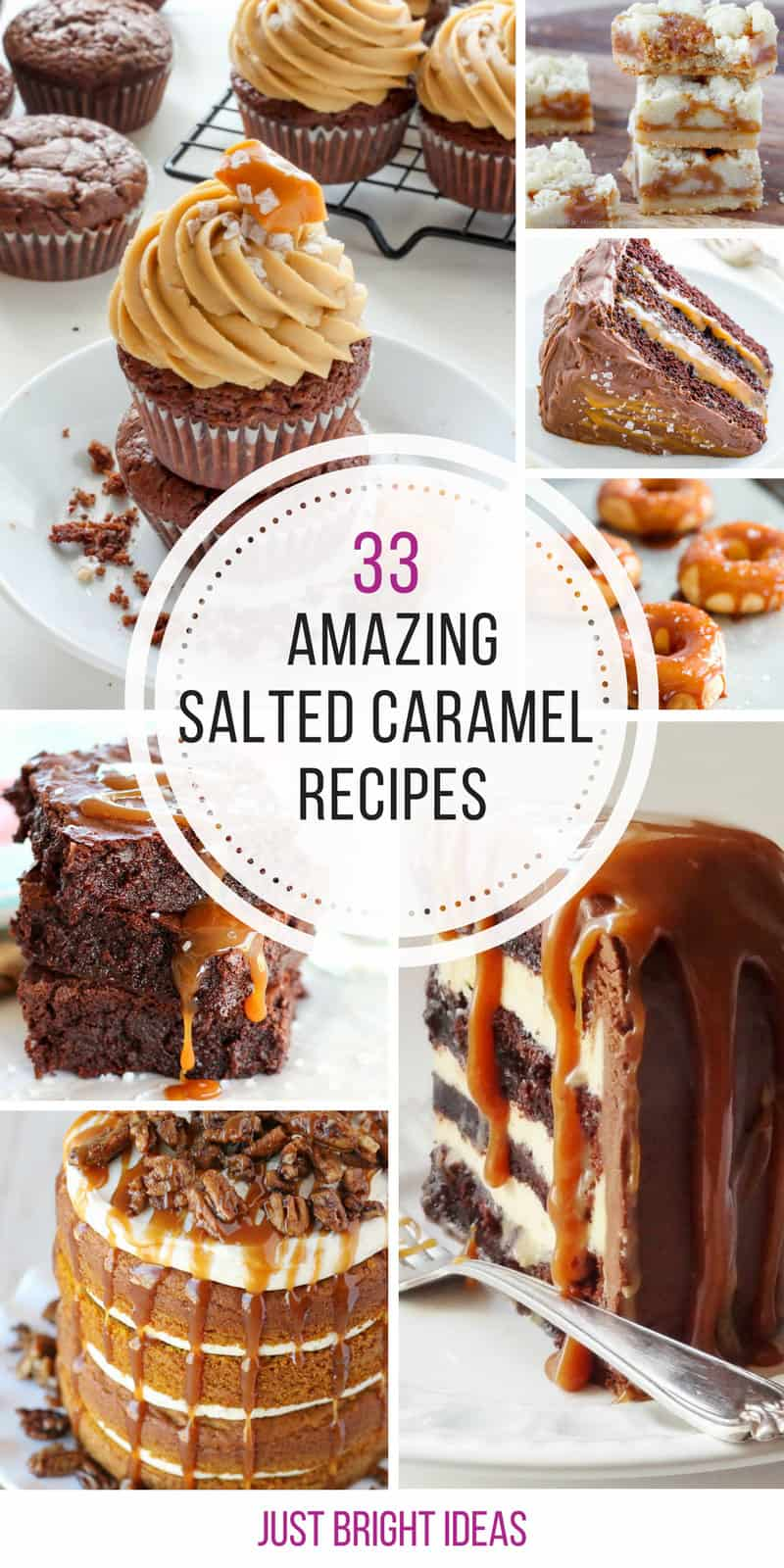 Well there goes the diet for another day! Thanks for sharing these salted caramel desserts!