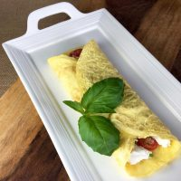 "Savory Flourless ""Crepes"""