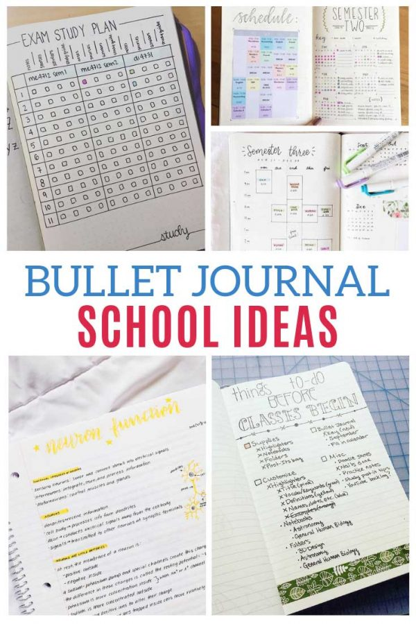 These school bullet journal ideas are brilliant and just what I need this semester!
